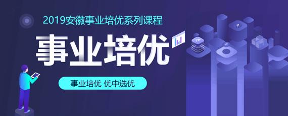 2019安徽事业单位培优系列课程