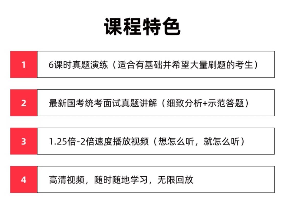 【2020年国考】结构化面试专岗专训(银保监会)