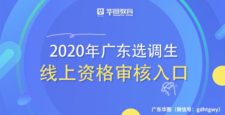 湛江市2020年选调生和急需紧缺专