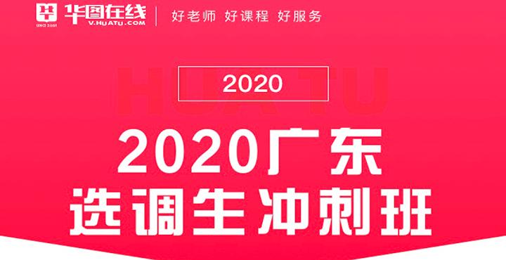 2020廣東選調生沖刺課