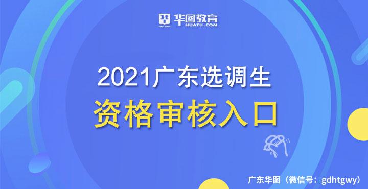广东选调生线上资格审核