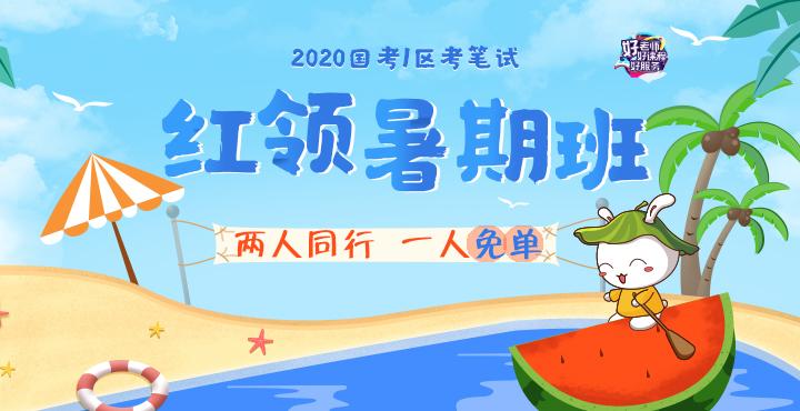 2020国考红领暑假营