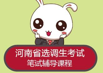 2019河南选调生必威体育 betwayapp辅导课程