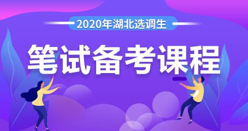 2020年湖北选调生梦想季