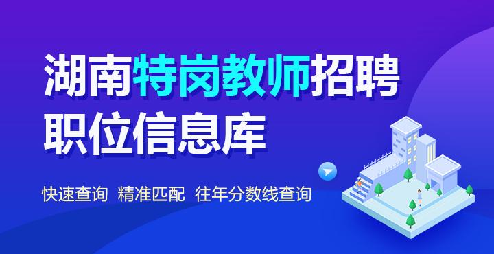 2020湖南教师资格证招聘网