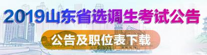 2019山东省考笔试课程