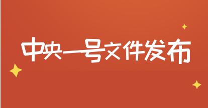 省公务员申论热点:2019年中央一号