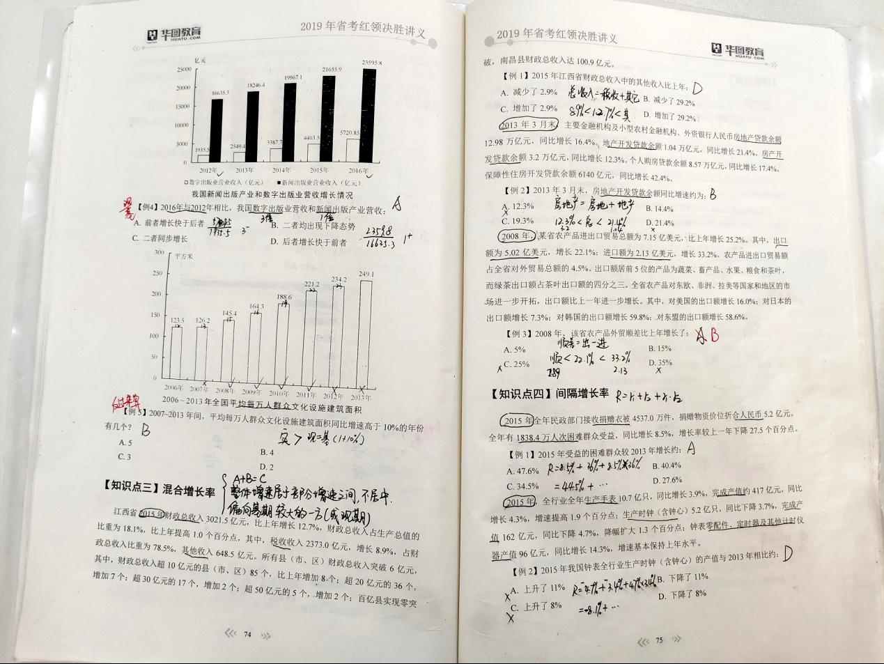 2019内蒙古公务员考试:华图押中资料分析软文题