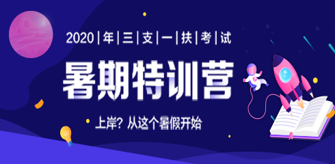 2019华图三支一扶暑假作业