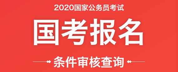 2020年国家公务员报考条件查询