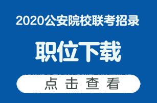 2020公安院校职位联考下载
