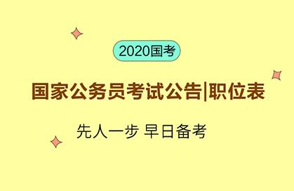 2020河北国家公务员考试职位表下载_职位筛选