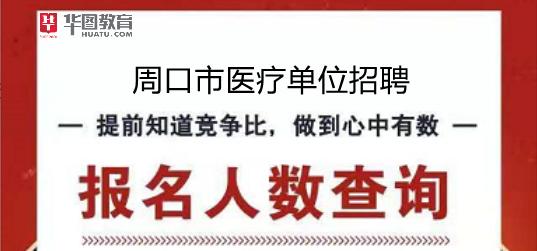 2019周口特招医学毕业生和全科医生考试报名人数