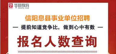 2019年信阳息县事业单位必威体育app必威体育 betwayapp报名人数查询系