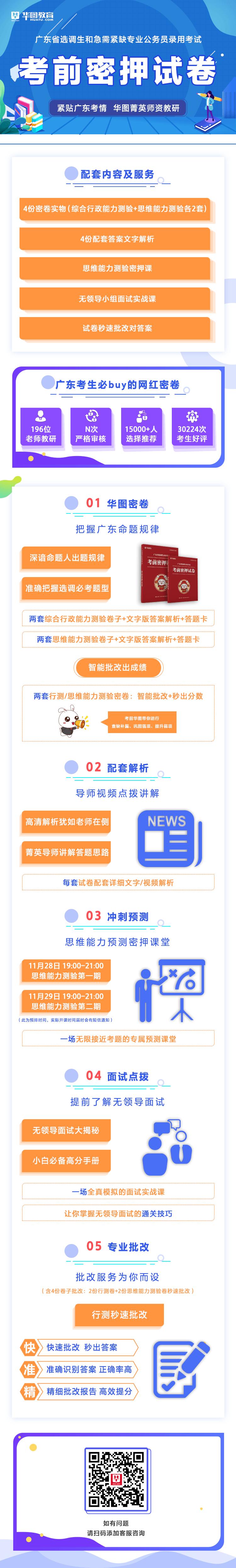 2020廣東選調生密押卷(綜合行政能力測驗+思維能力測驗各2套)