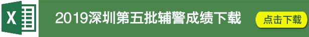 深圳第五批辅警成绩下载