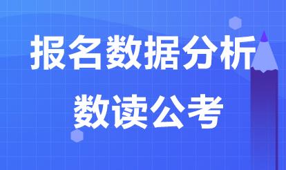 2020内蒙古区考竞争比:往年岗位最高竞争比达2032:1!