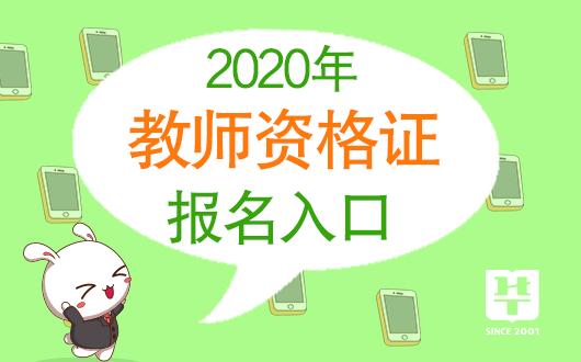 小学教师资格证报名时间2020年图片