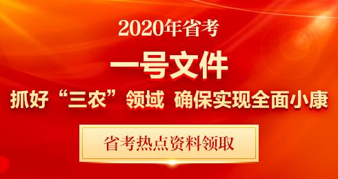 2020年中央一�文件