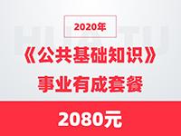 2020年《公共基础知识》事业有成套餐