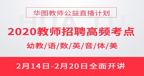 2020海南教师招聘网课