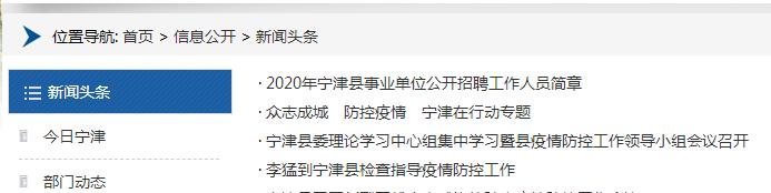 宁津政府网