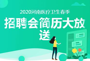 2020河南医疗卫生春季招聘会简历大放送