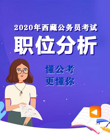 2020西藏公務員職位表:六地參與招聘,多數崗位要求本科學歷