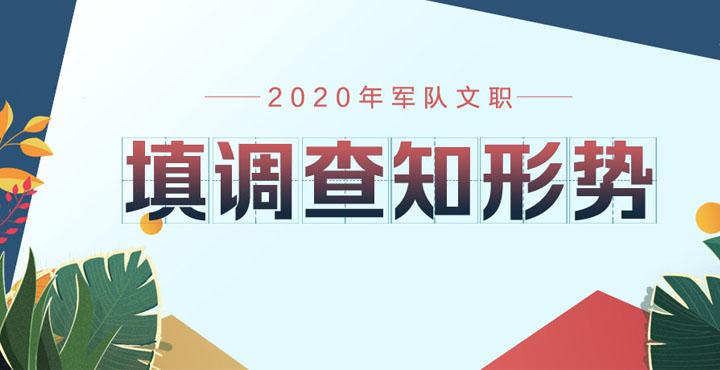 2020年军队文职调查问卷