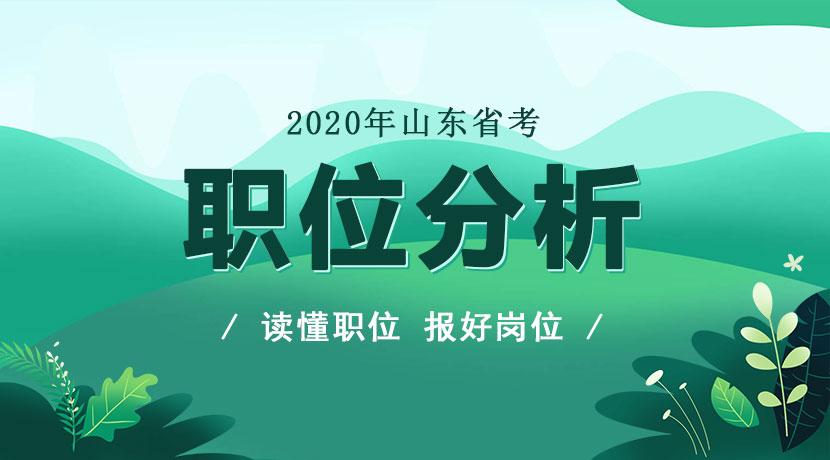 山东省考考试报名数据统计