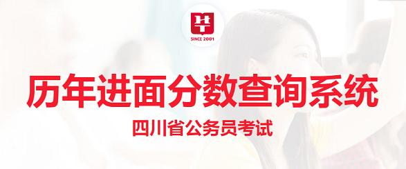 2020年四川公务员考试分数线