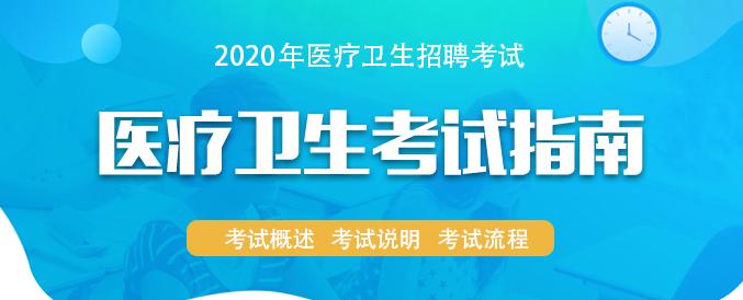 2020年医疗卫生考试指南