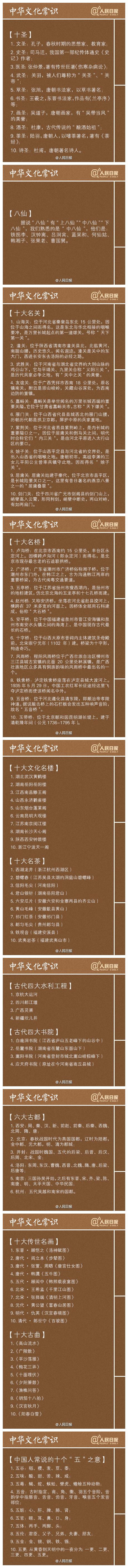 2021国家公务员考试技巧:常识积累之中华文化常识