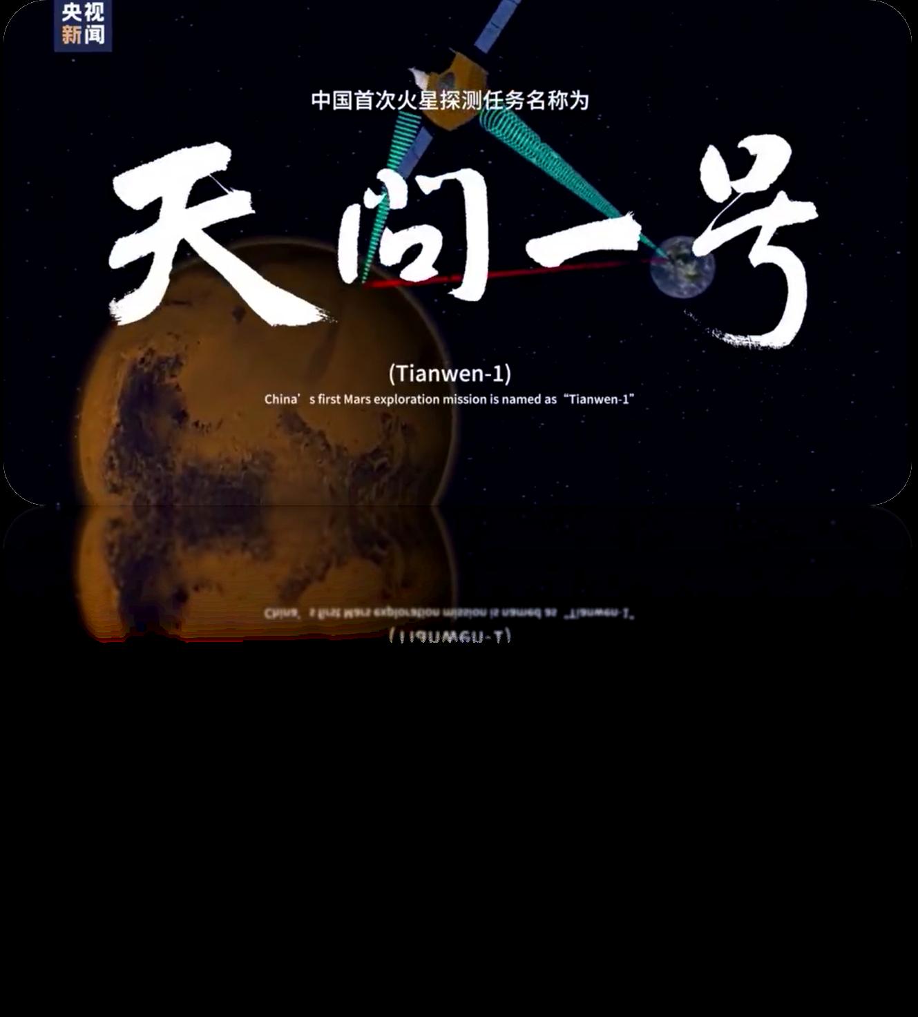 """【心动1号】""""天问""""探火"""