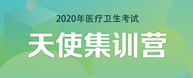 """2020年医疗卫生招聘考试""""天使""""集训营笔试辅导课程"""