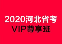 2020河北省VIP尊享班