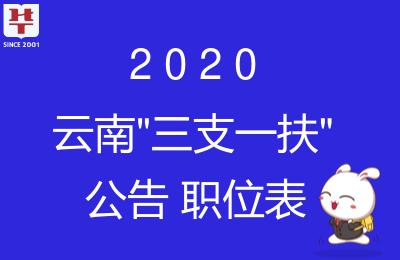 2020云南三支一扶招募考试公告_笔试时间-云南三支一扶招聘网