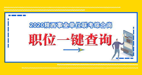 2020陕西省事业单位综合岗公告解读峰会