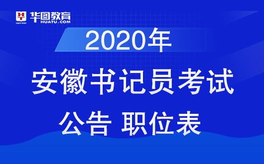 2020安庆书记员招聘考试公告已出-安庆事业单位招聘网图1