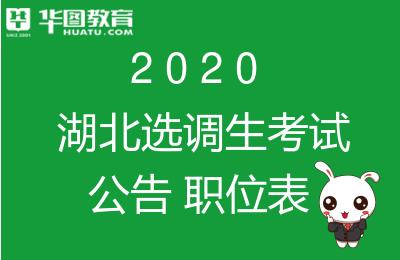 2020湖北选调生考试报考条件-湖北人事考试网