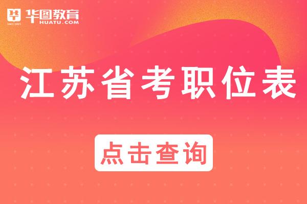 江苏省苏州市公务员2021年职位表_江苏人力资源和社会保障网
