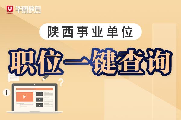 【职位表搜索】2020咸阳事业单位招聘816人职位表