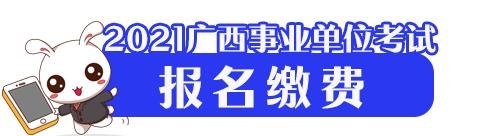 2021年广西事业单位招聘考试报名缴费/缴费时间
