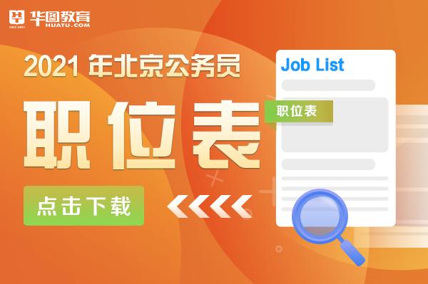 北京市公务员职位查询-北京人保局