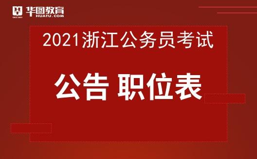 2021浙江省考通告密布时间-浙江公务员考试网