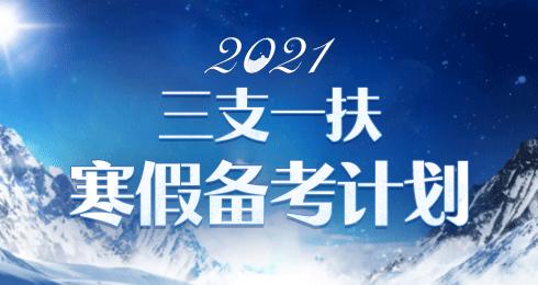 2020三支一扶寒假作業