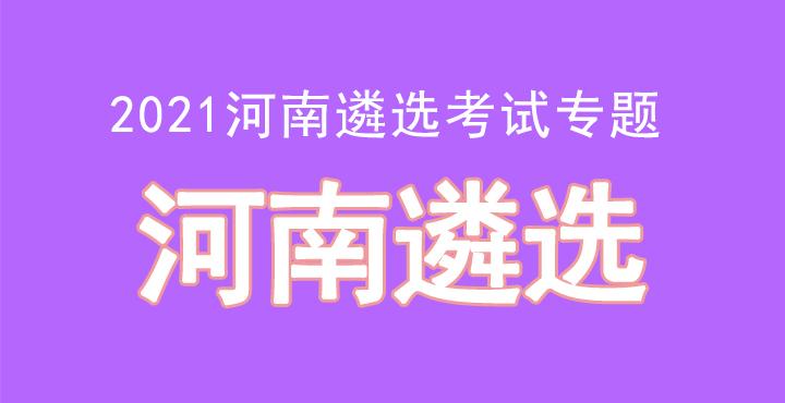 2021河南遴选考试专题