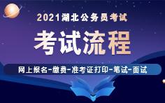 2021年湖北省考考試流程