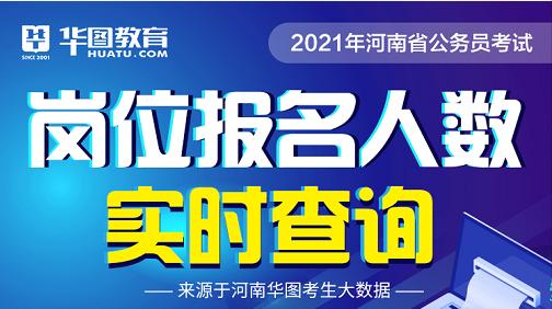 2021年河南省考报名人数