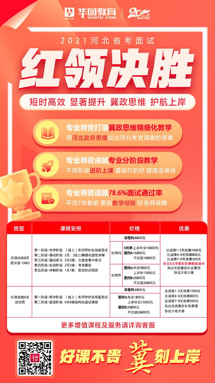河北省考面试课程